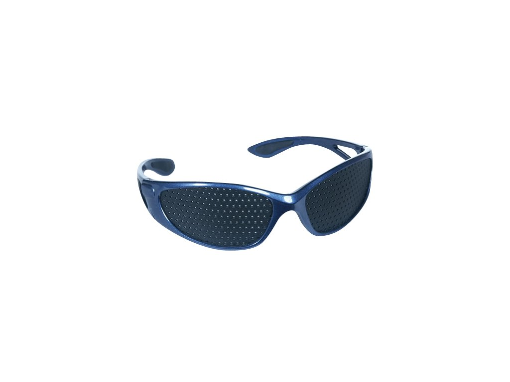 Děrované brýle modré - Sport