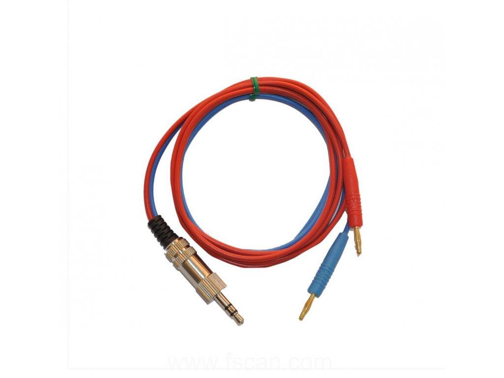 Kabel Jack k nalepovacím elektrodám