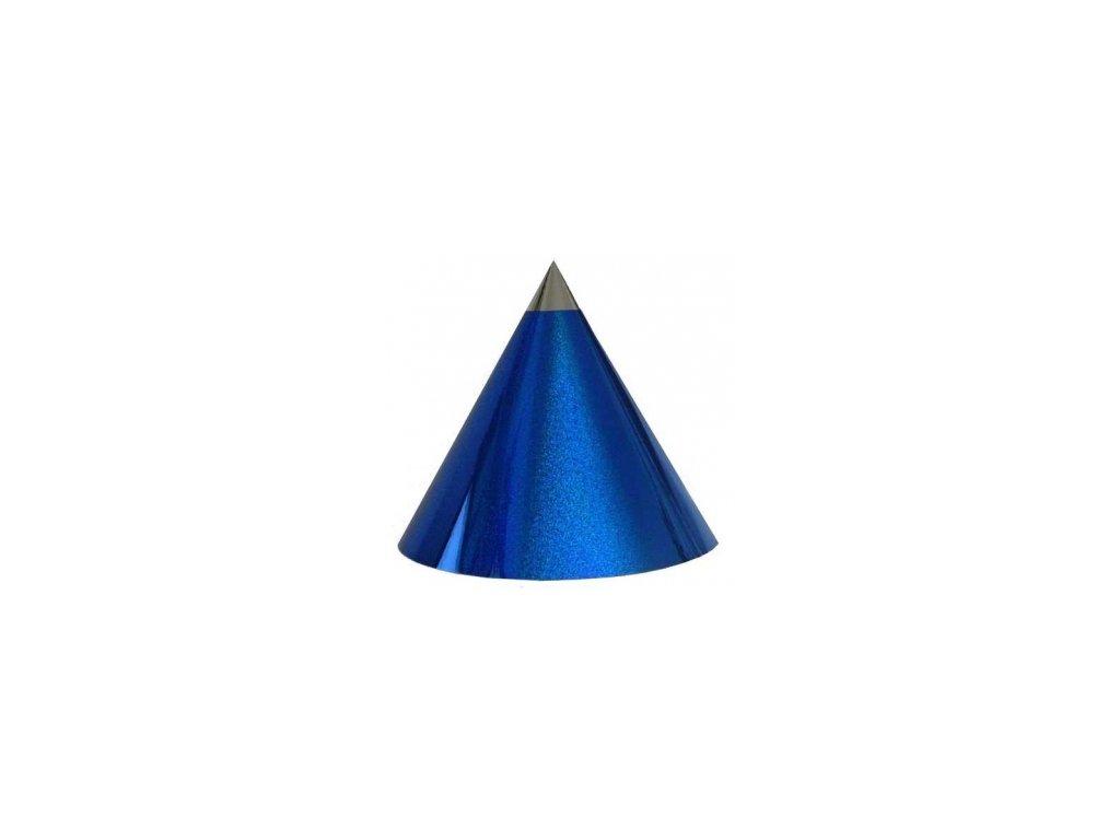 Kuželová pyramida (30 cm) - modrá tečky