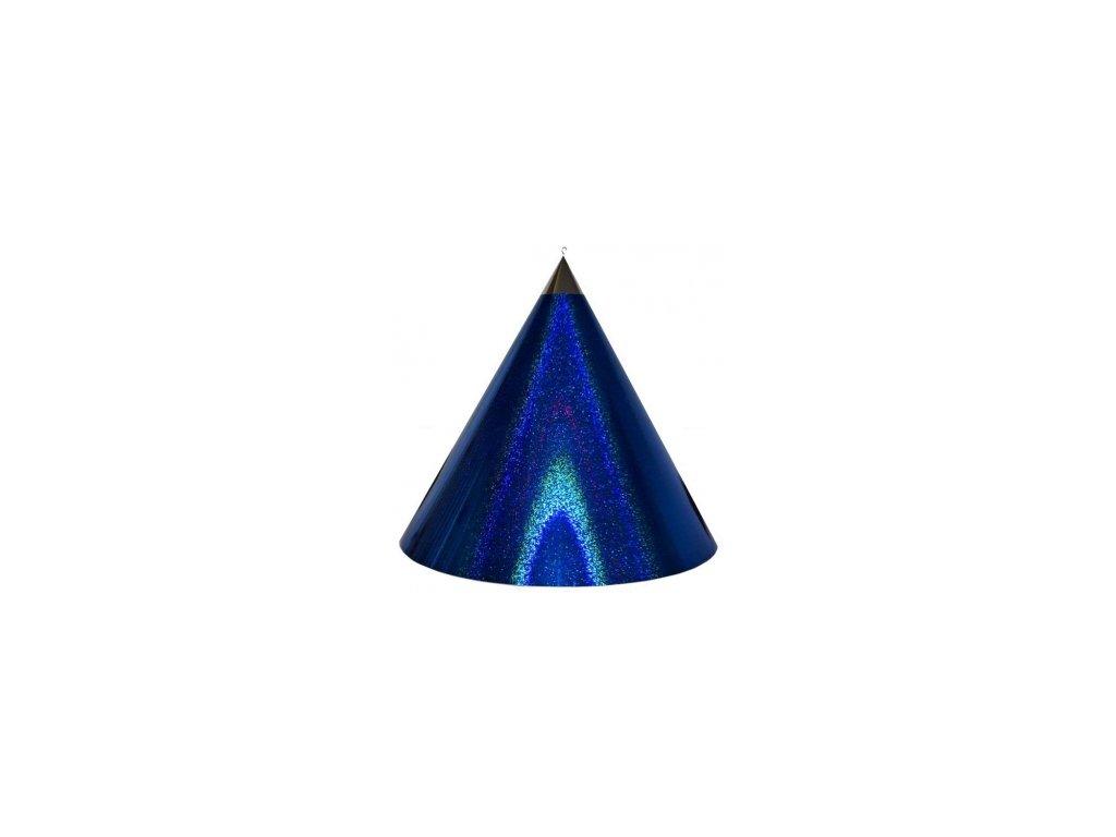 Kuželová pyramida velká (50 cm) - tmavě modrá tečky