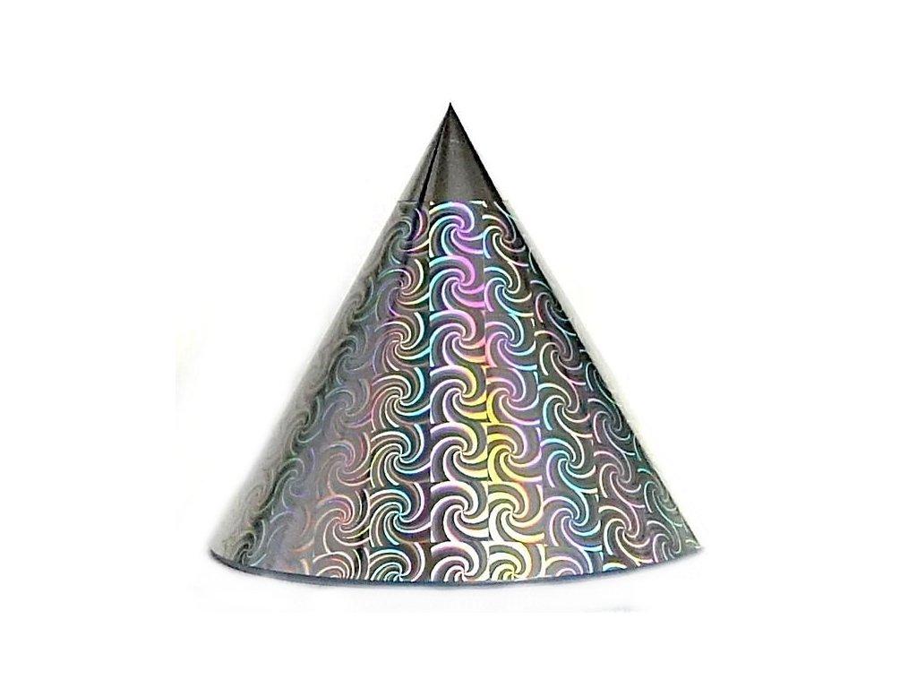 Kuželová pyramida (22 cm) - stříbrný větrník