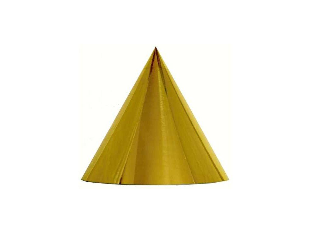 Kuželová pyramida (30 cm) - zlatá