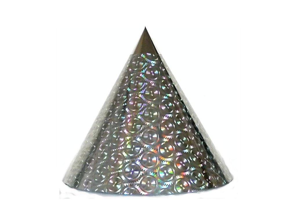 Kuželová pyramida (30 cm) - stříbrná pila