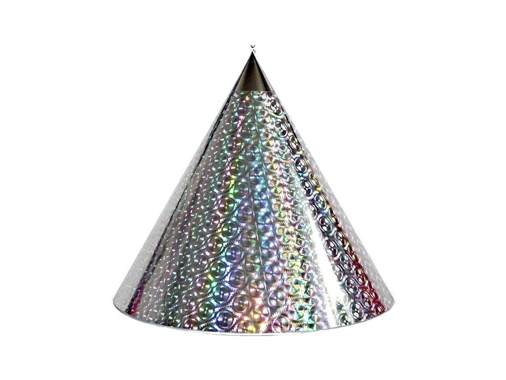 Kuželová pyramida (45 cm) -stříbrná pila