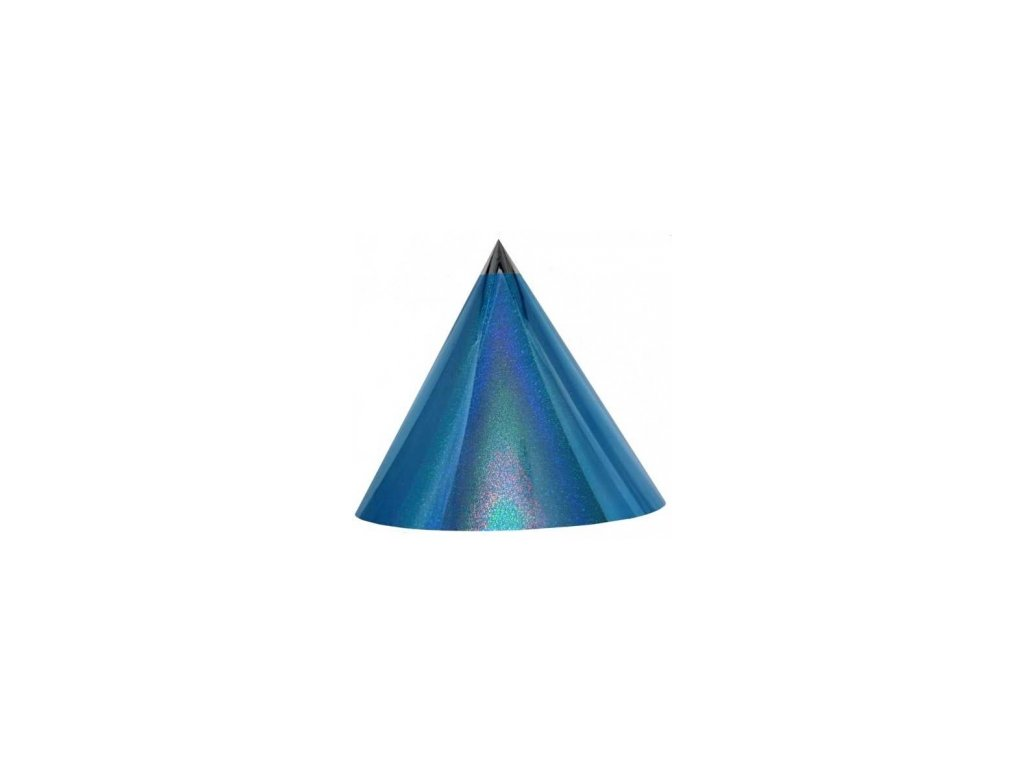 Kuželová pyramida (50 cm) - světle modrá-tečky