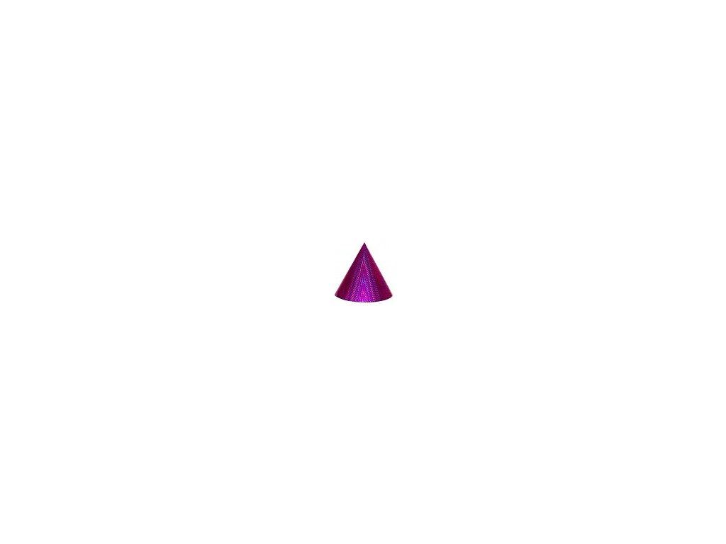 Kuželová pyramida (30 cm) - purpurová