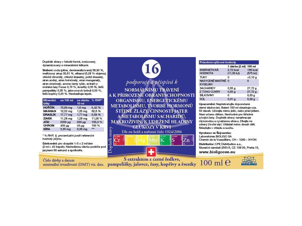 16 ROZTOK BIOLIGO - trávení, štítná žláza, metabolismus sacharidů