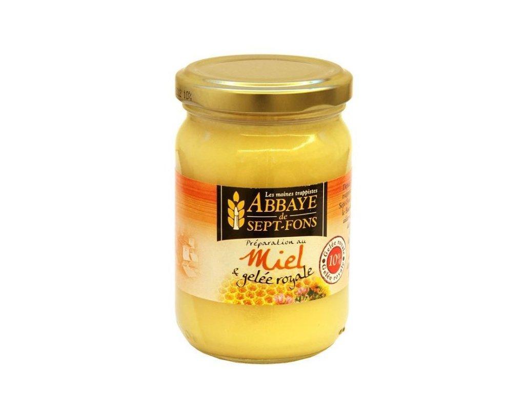 Med a 10% mateří kašička