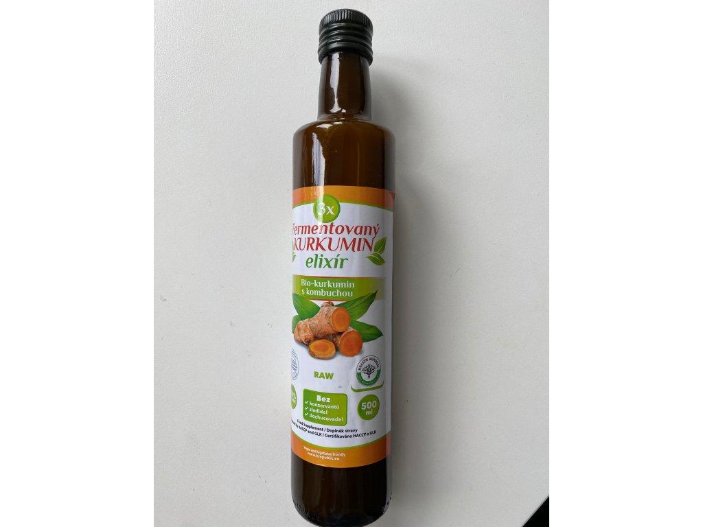 Fermentovaný Kurkumin elixír