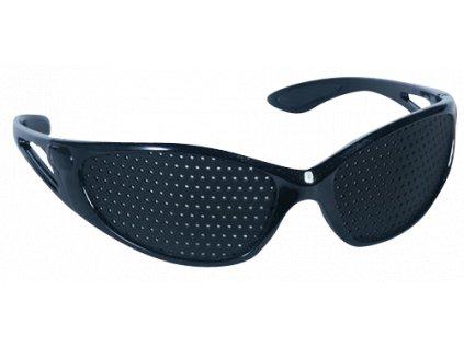 Děrované brýle černé - Sport