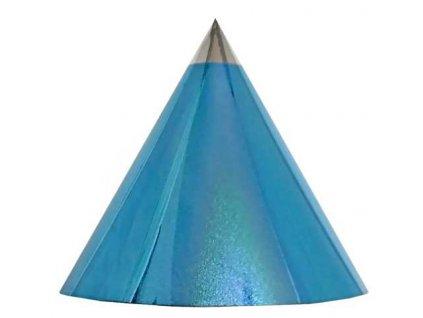 Kuželová pyramida (30 cm) - světle modrá tečky