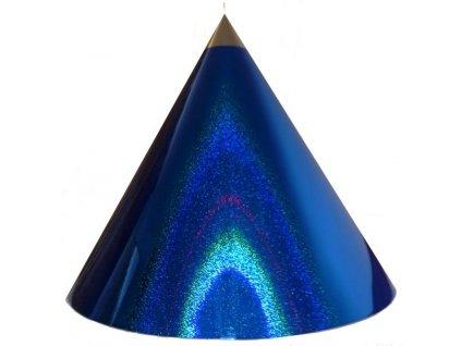 Kuželová pyramida velká (70 cm) - tmavě modrá tečky