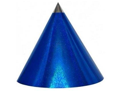 Kuželová pyramida (60 cm) - tmavě modrá-tečky