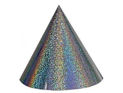 Kuželová pyramida (50 cm) - stříbrná větrníčky