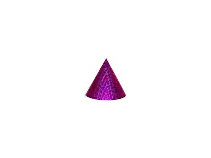 Kuželová pyramida malá (11 cm) - purpurová