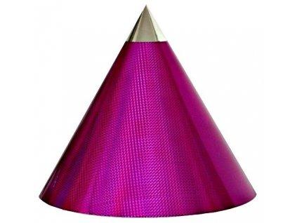 Kuželová pyramida (45 cm) - purpurová