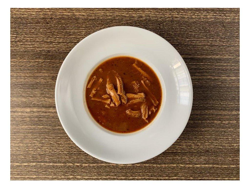 Dršťková polévka 1