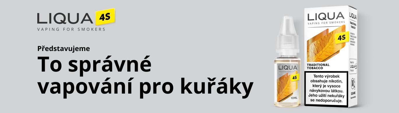 E-liquidy LIQUA 4S (Novinka)