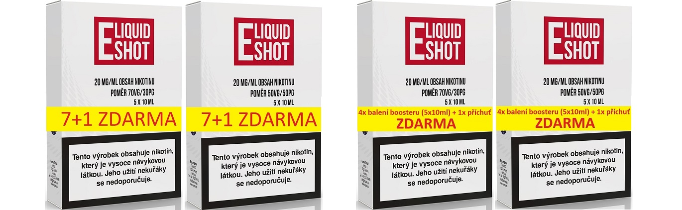 Booster báze E-Liquid Shot