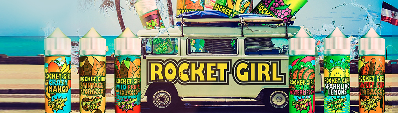 Příchutě Rocket Girl