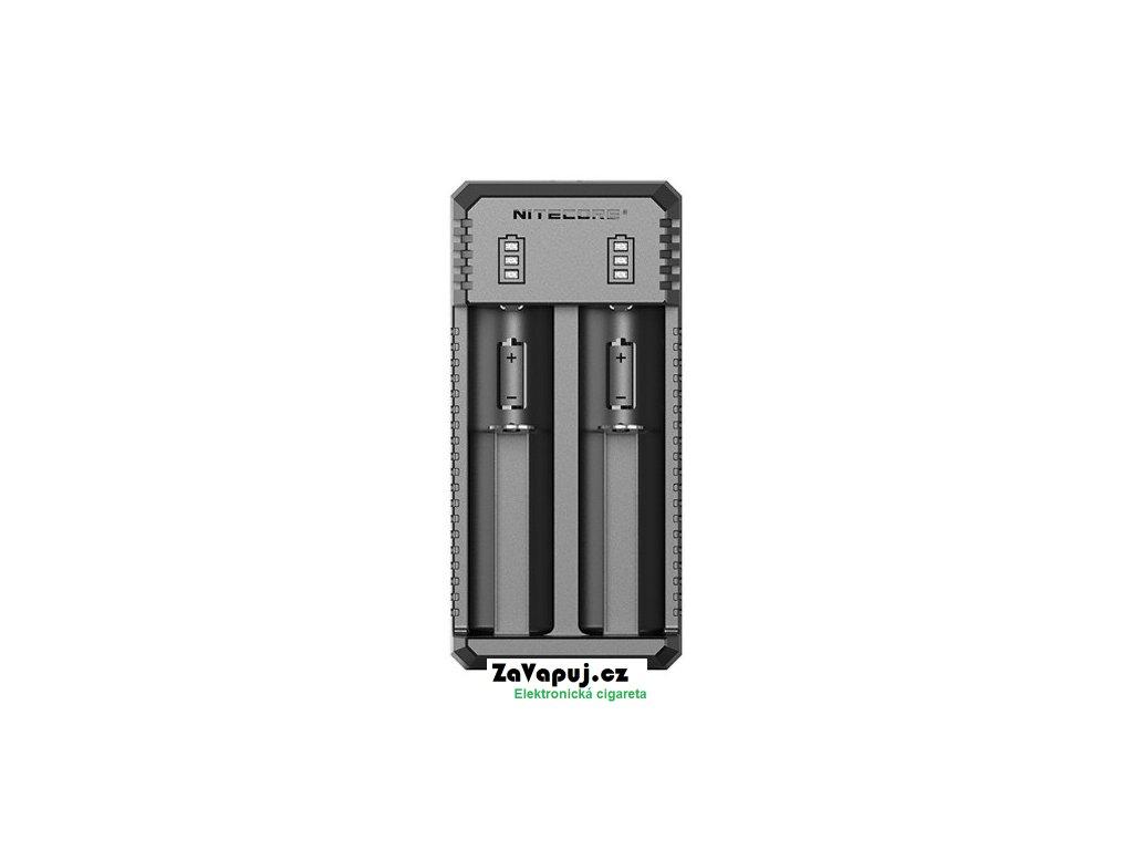 Multifunkční USB nabíječka baterií Nitecore UI2 (2 sloty)