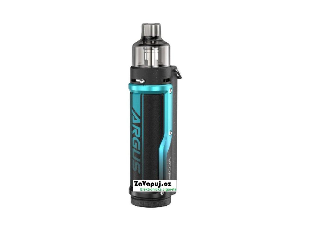 Elektronická cigareta VOOPOO Argus Pro 80W 3000mAh Litchi Leather and Blue
