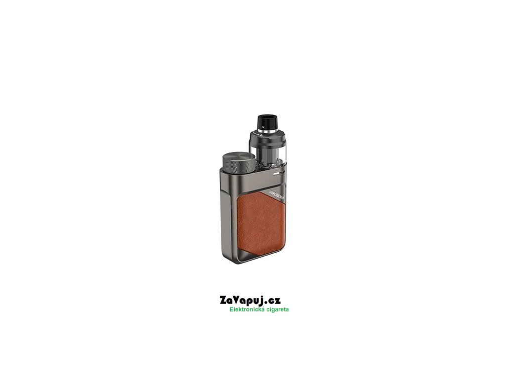 Elektronický grip Vaporesso SWAG PX80 Leather Brown