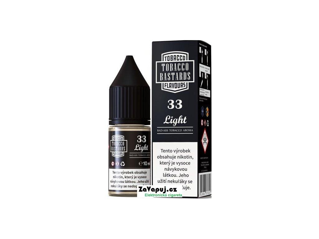 Liquid Flavormonks Tobacco Bastards SALT No.33 Light 10ml - 10mg