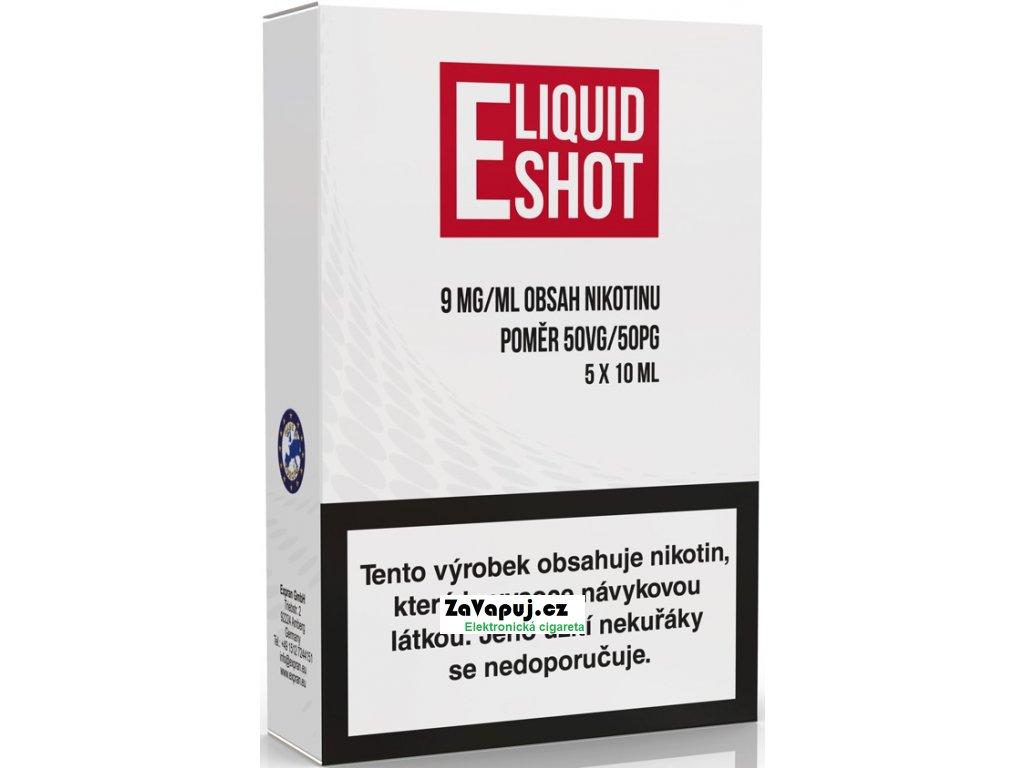 5 pack E Liquid Shot Booster 50PG50VG 9 mgml
