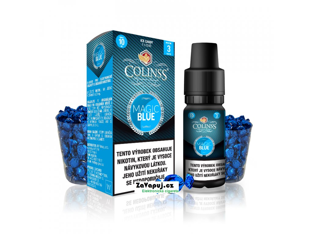 Colinss eliquid 10ml Magic Blue OK