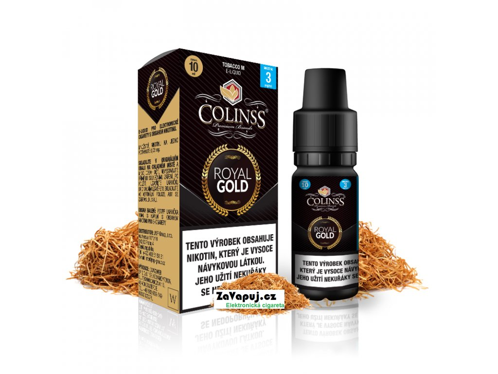 Colinss eliquid 10ml Royal Gold OK