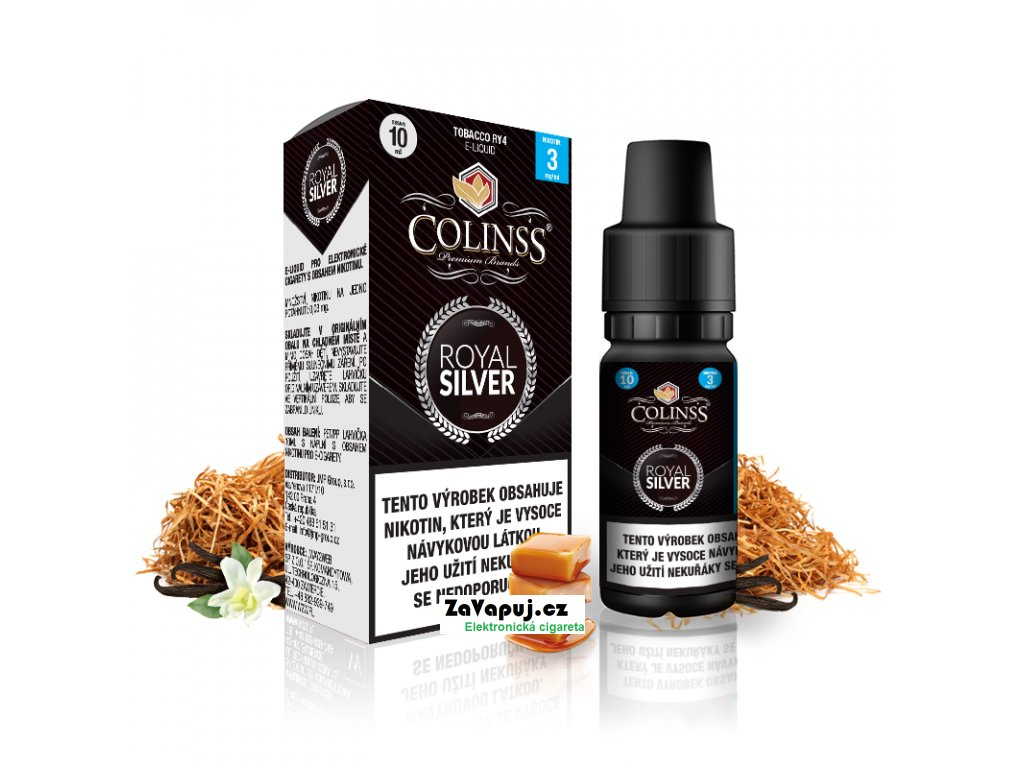 Colinss eliquid 10ml Royal Silver OK