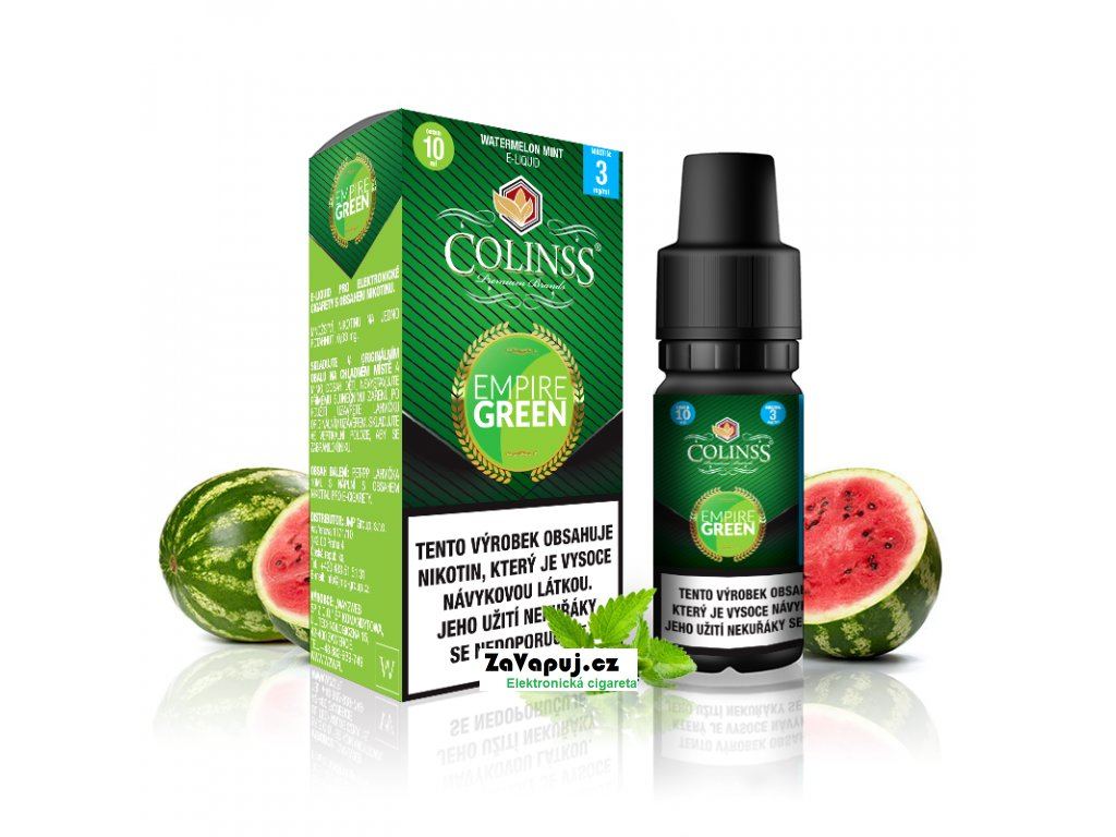 Colinss eliquid 10ml Empire Green OK
