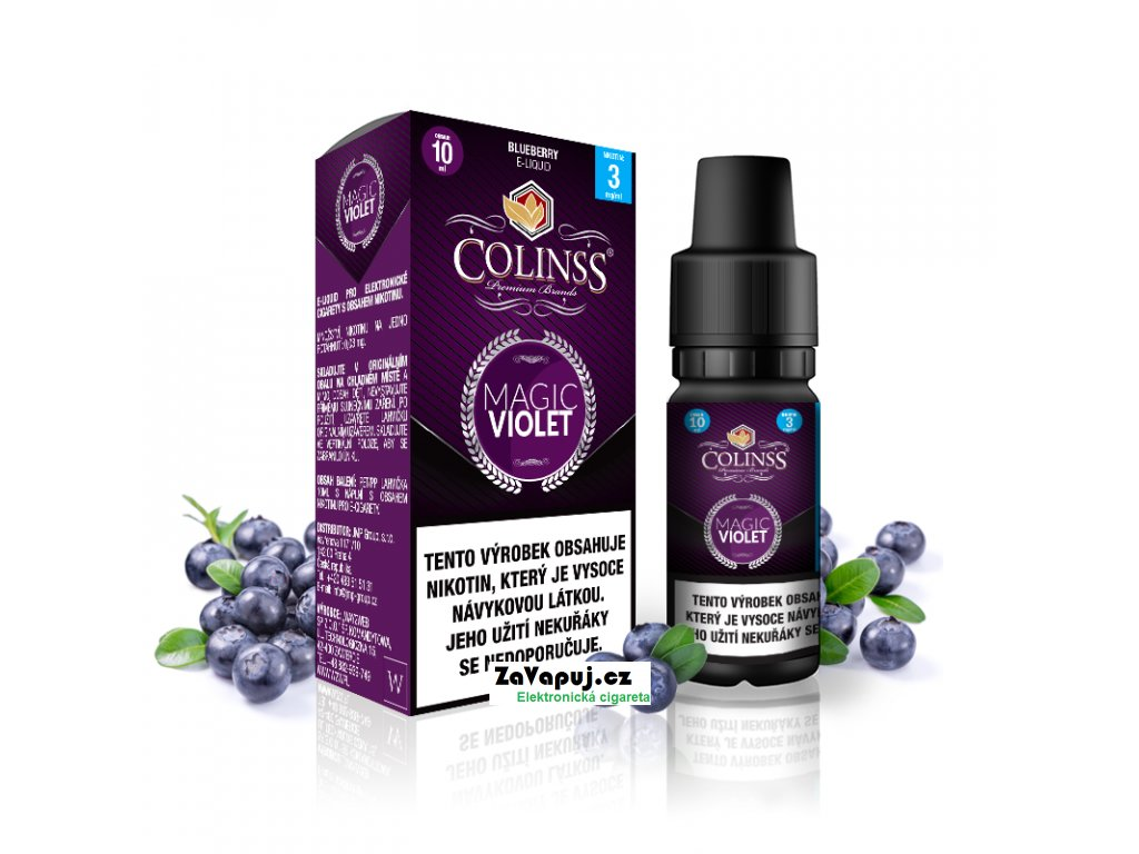 Colinss eliquid 10ml Magic Violet OK