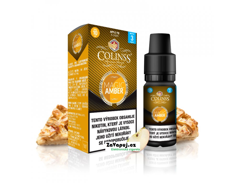 Colinss eliquid 10ml Magic Amber OK