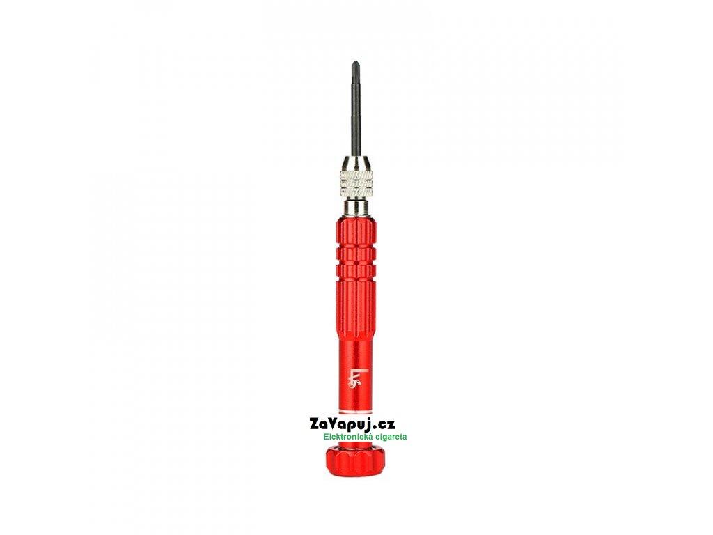 Multifunkční šroubovák pro DIY atomizéry Lvs 4v1 Červený