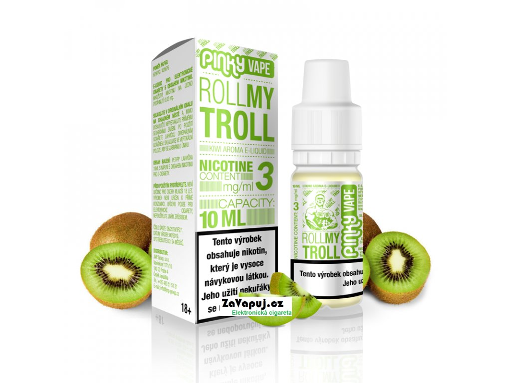 PinkyVape eliquid 10ml Roll my Troll