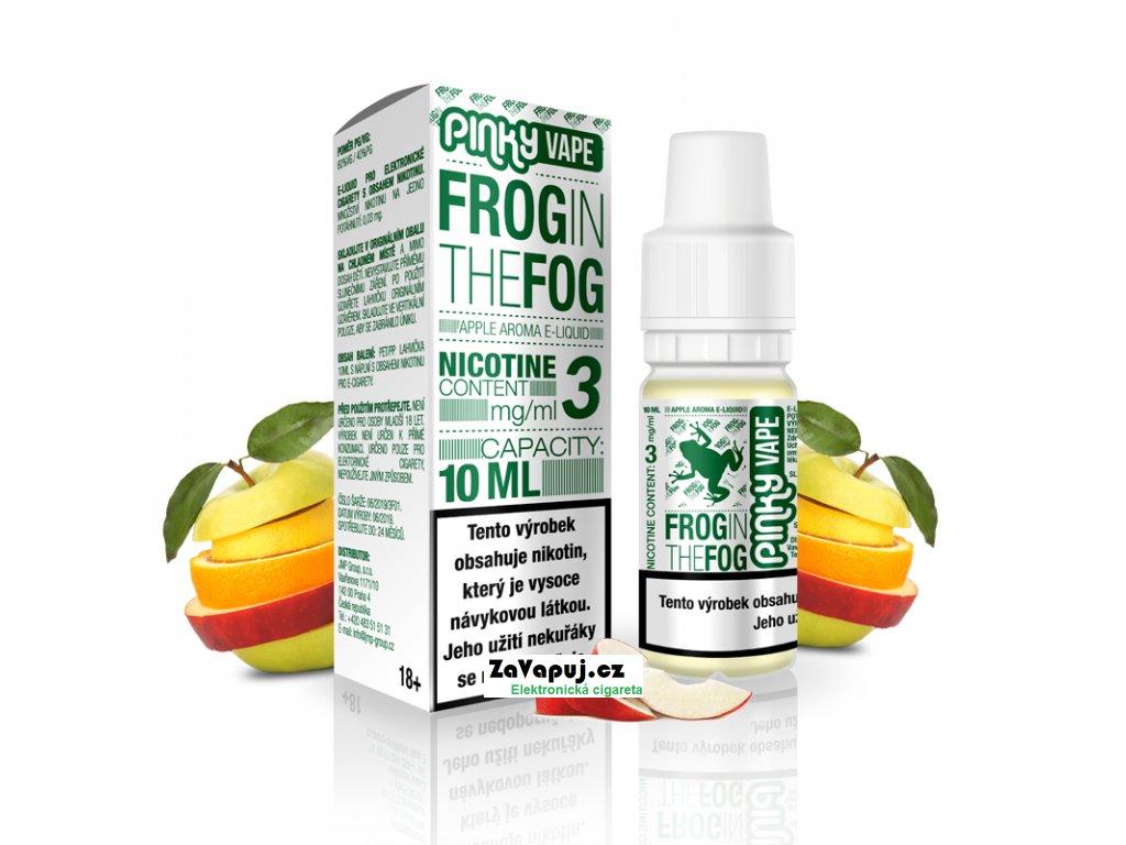 PinkyVape eliquid 10ml Frog in the Fog
