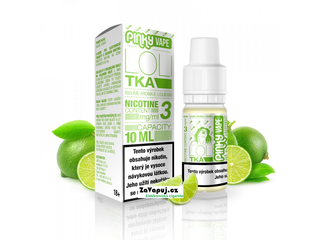 PinkyVape eliquid 10ml Lolitka