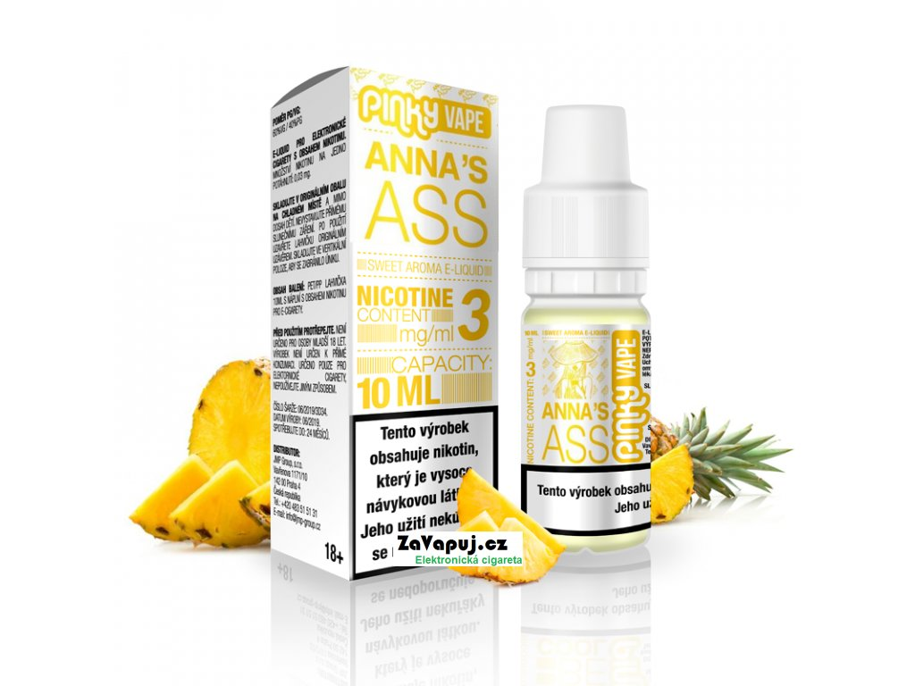 PinkyVape eliquid 10ml Annas Ass
