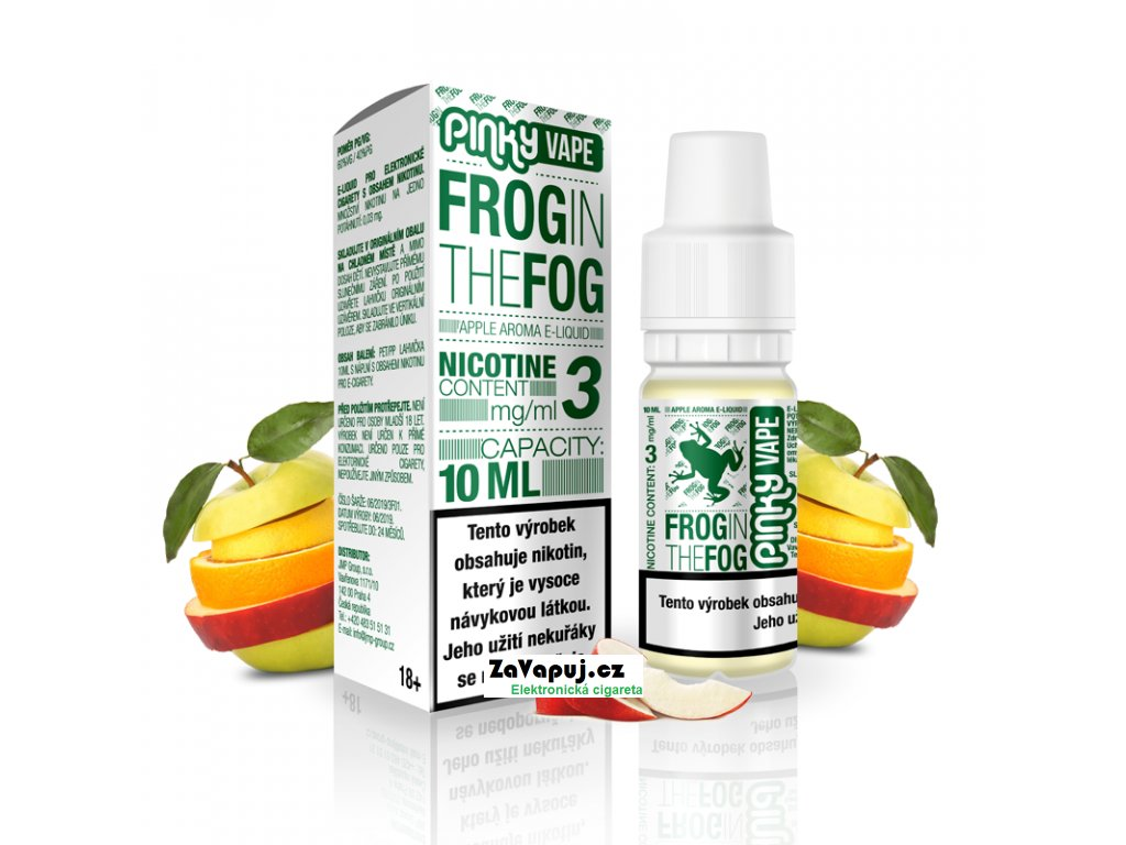 PinkyVape eliquid 10ml Frog in the Fog