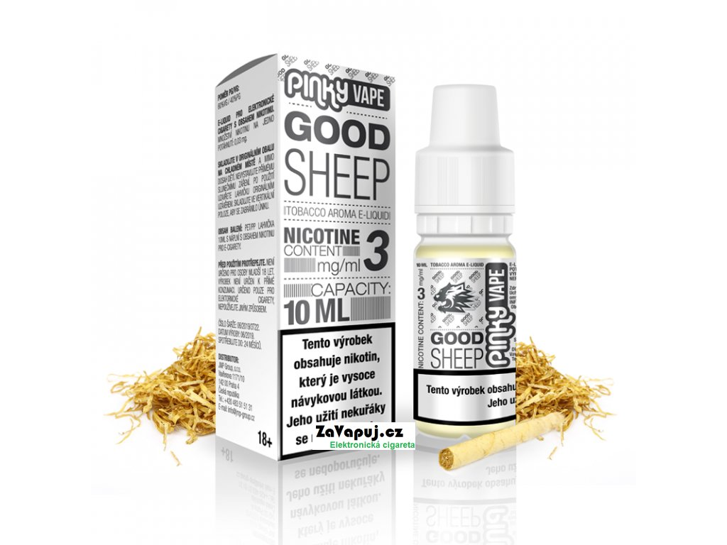 PinkyVape eliquid 10ml Good Sheep