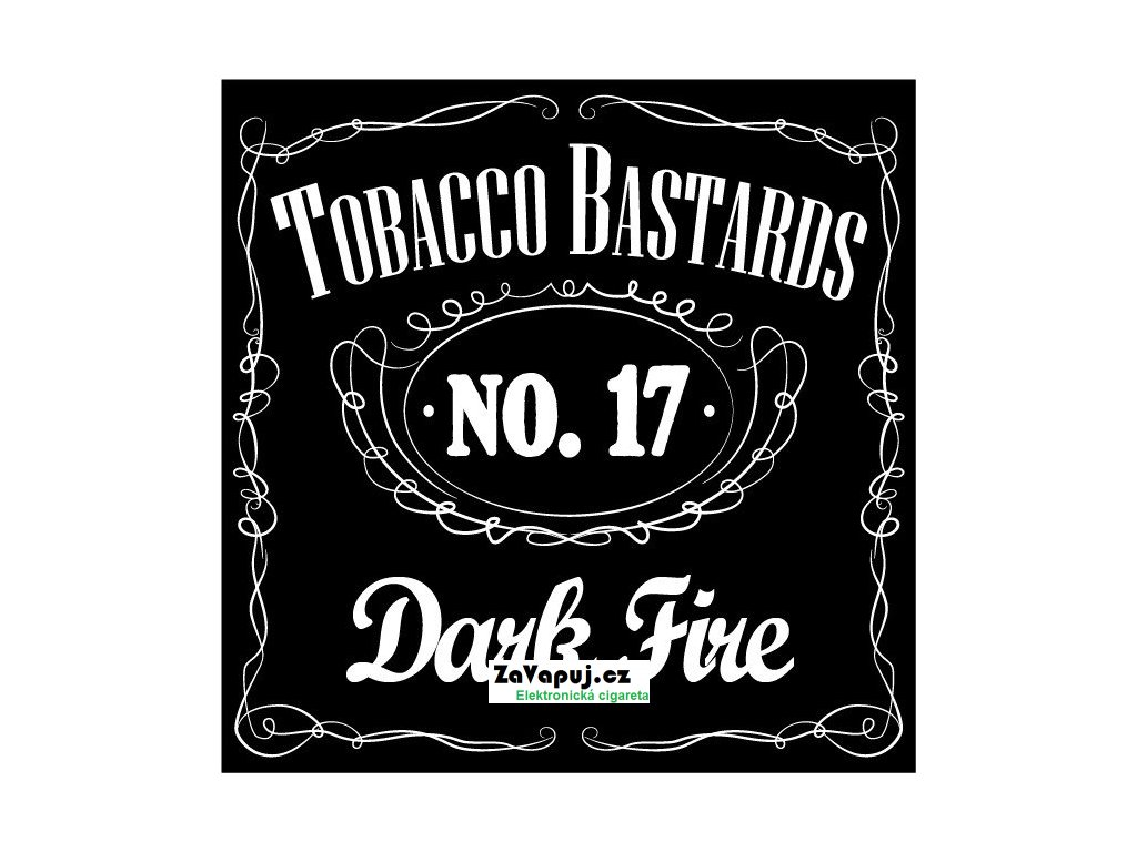 Příchuť Flavormonks 10ml Tobacco Bastards No.17 Dark Fire