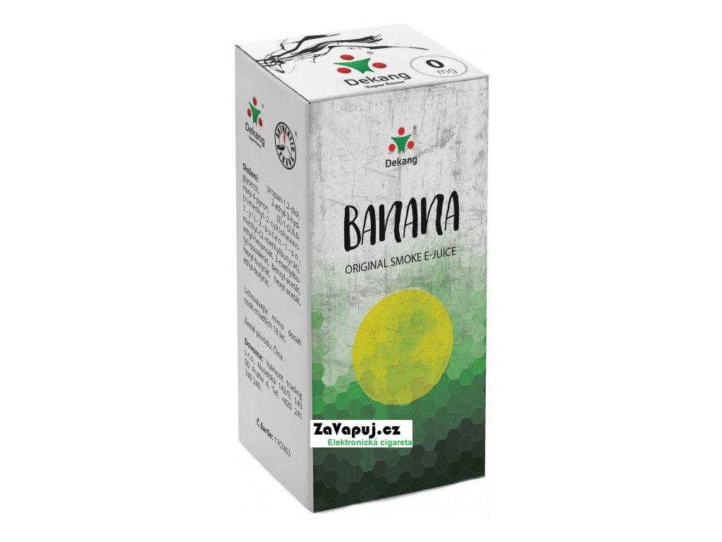 Liquid Dekang Banana 10ml - 0mg (Banán)