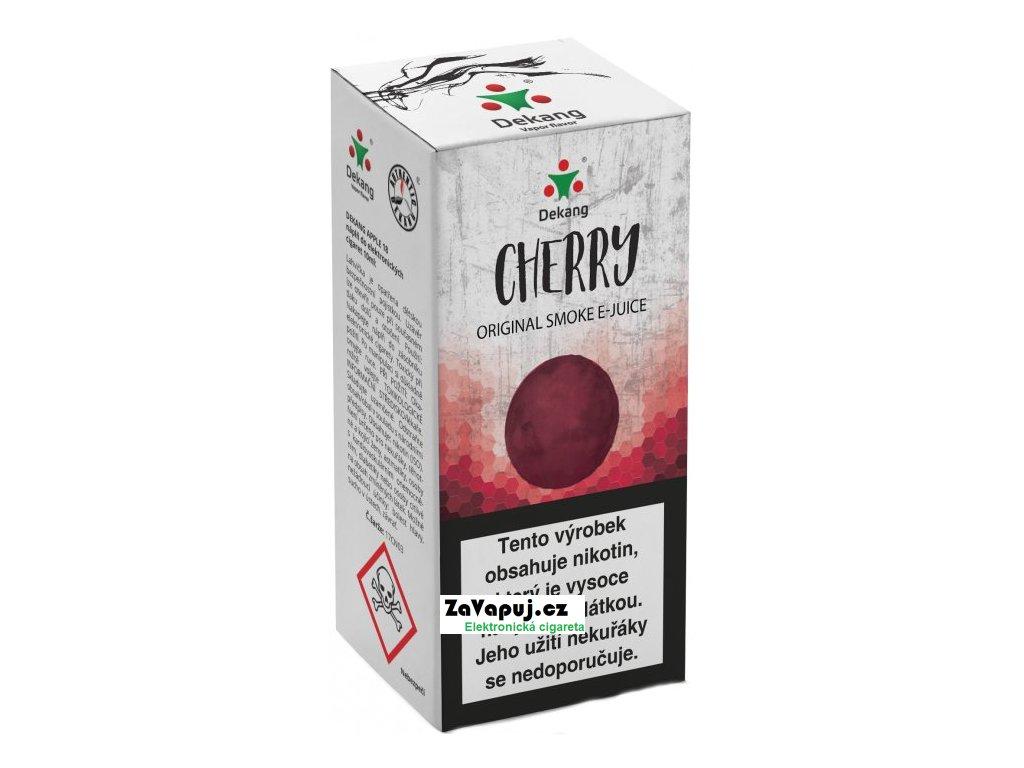 Liquid Dekang Cherry 10ml-11mg (Třešeň)
