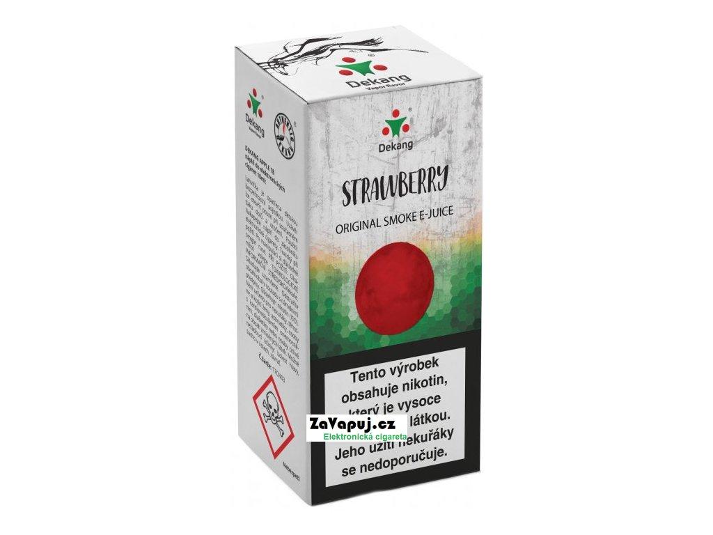 Liquid Dekang Strawberry 10ml - 16mg (Jahoda)