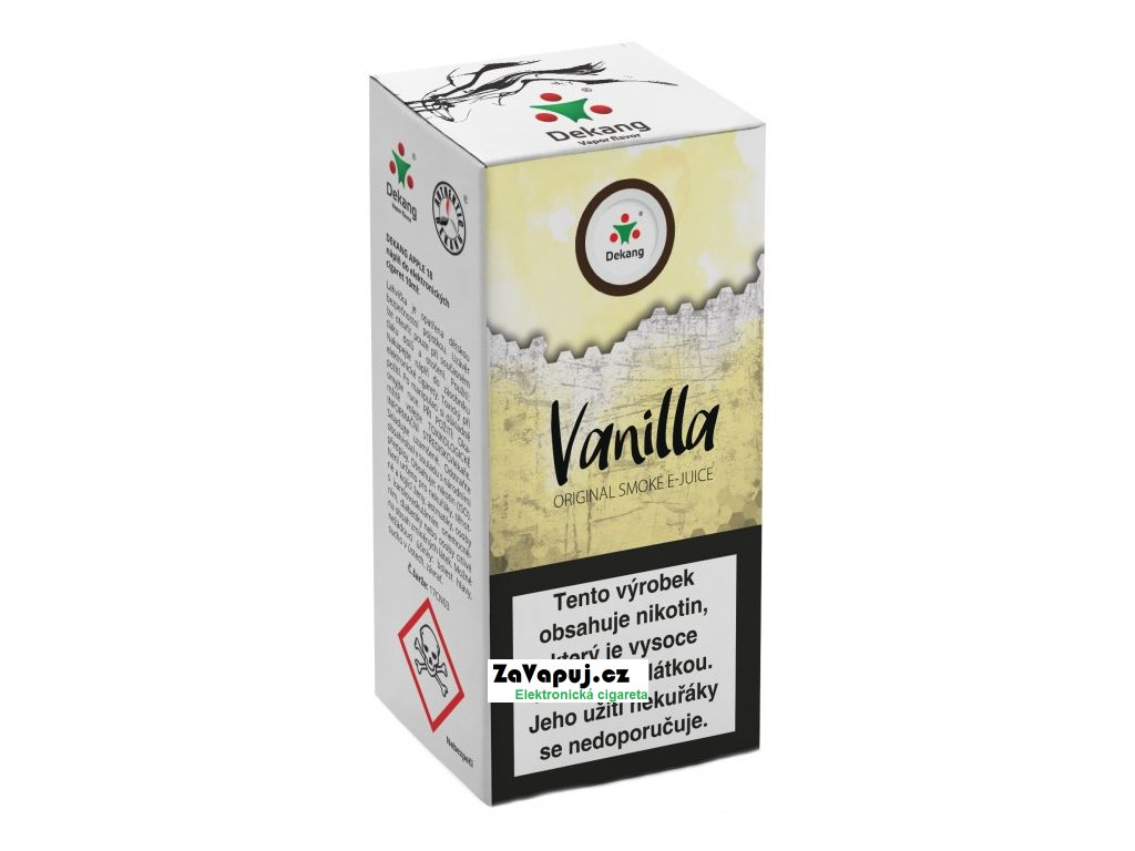 Liquid Dekang Vanilla 10ml - 11mg (Vanilka)