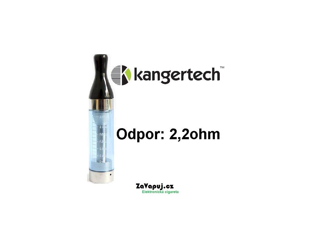Clearomizér Kangertech CC/T2 2,4ml 2,2ohm Modrý