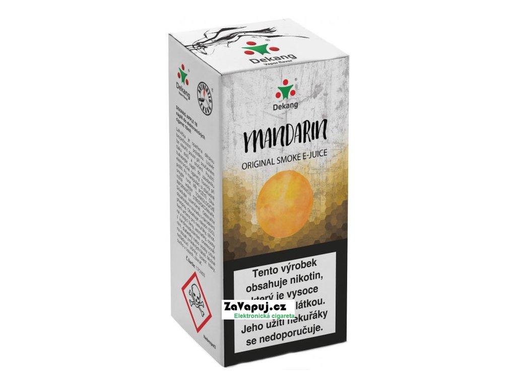 Liquid Dekang Mandarin 10ml - 16mg (mandarinka)