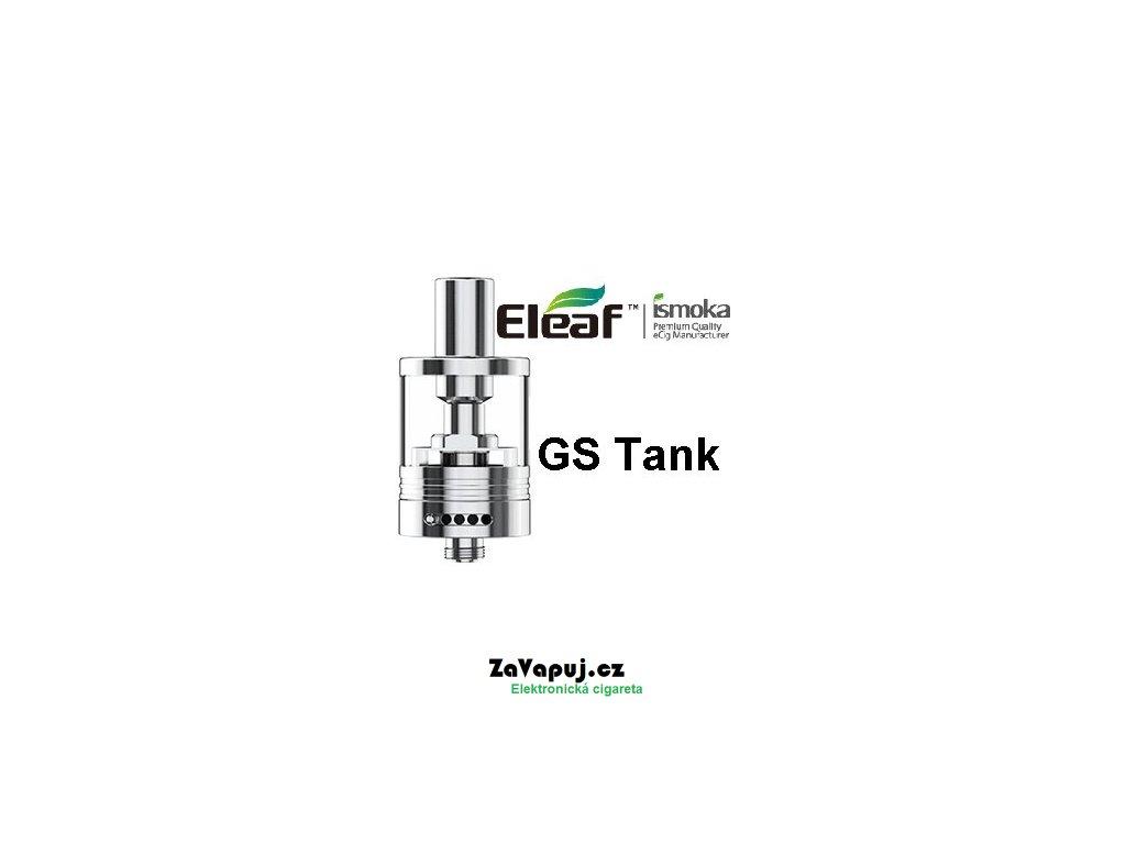 Clearomizér iSmoka-Eleaf GS Tank 3ml Stříbrný